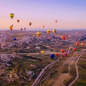 The 3 best Mexican destinations to fly in a balloon