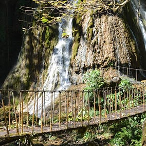 Puente de Fierro Waterfall